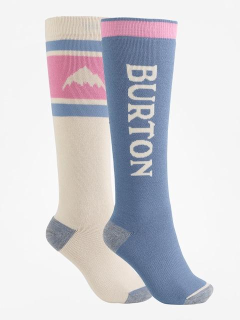Burton Socks Weekend Midweight 2Pk Wmn (pelican)