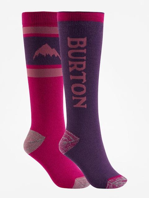 Burton Socks Weekend Midweight 2Pk Wmn (concord)
