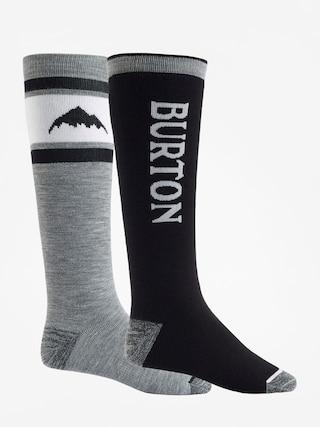 Burton Socks Weekend Midweight 2Pk (true black)