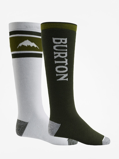 Burton Socks Weekend Midweight 2Pk (forest night)