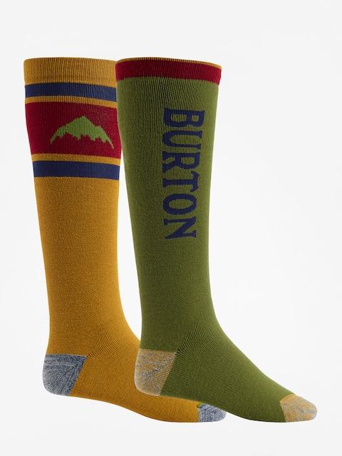 Burton Socks Weekend Midweight 2Pk (gldnok/clover)