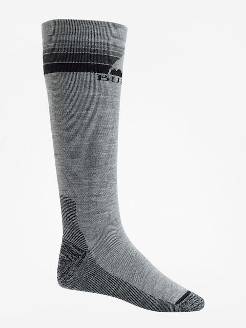 Burton Socken Emblem Midweight (gray heather)