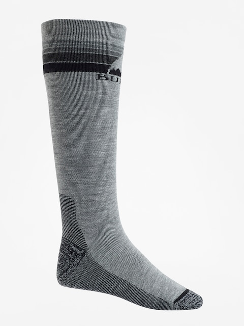 Burton Socks Emblem Midweight (gray heather)