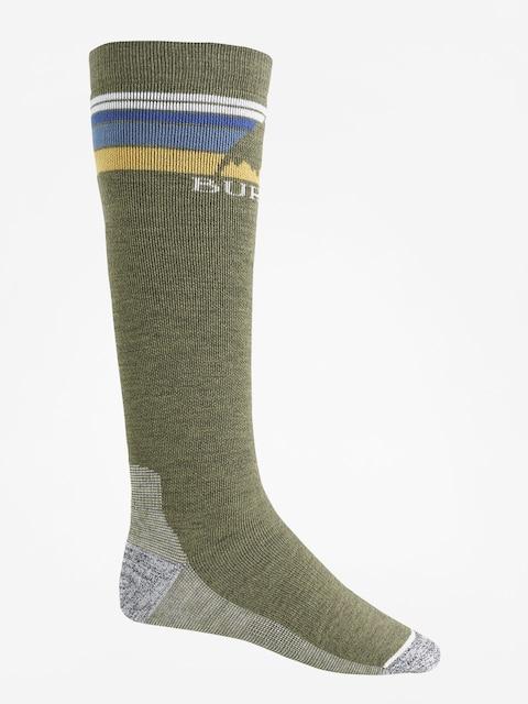 Burton Socken Emblem Midweight (olive heather)