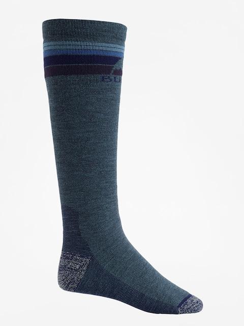 Burton Socken Emblem Midweight (indigo heather)
