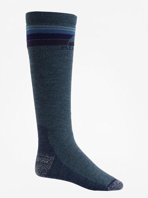 Burton Socks Emblem Midweight (indigo heather)