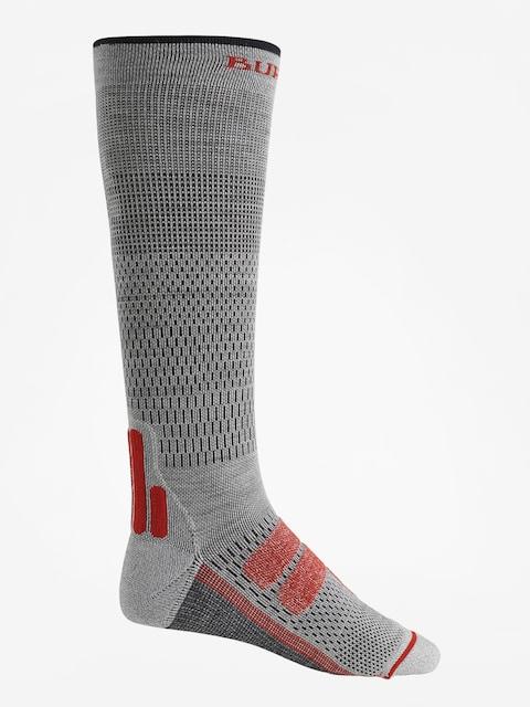 Burton Socks Performance + Ultralight Compression (gray heather)
