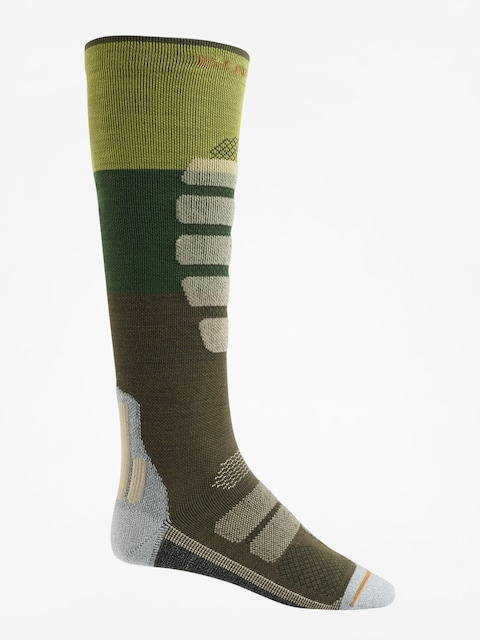 Burton Socks Performance + Lightweight (mosstone block)