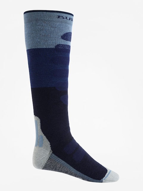 Burton Socks Performance + Midweight (mood indigo block)
