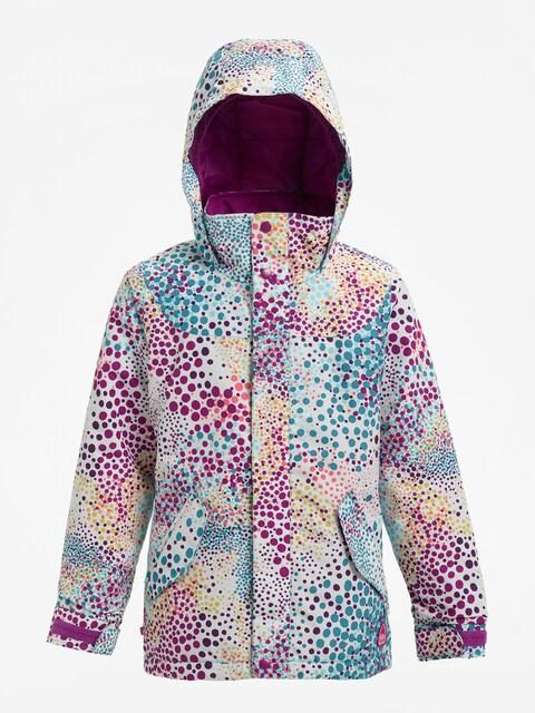 Burton Snowboard jacket Girls Elodie (stout white dots)