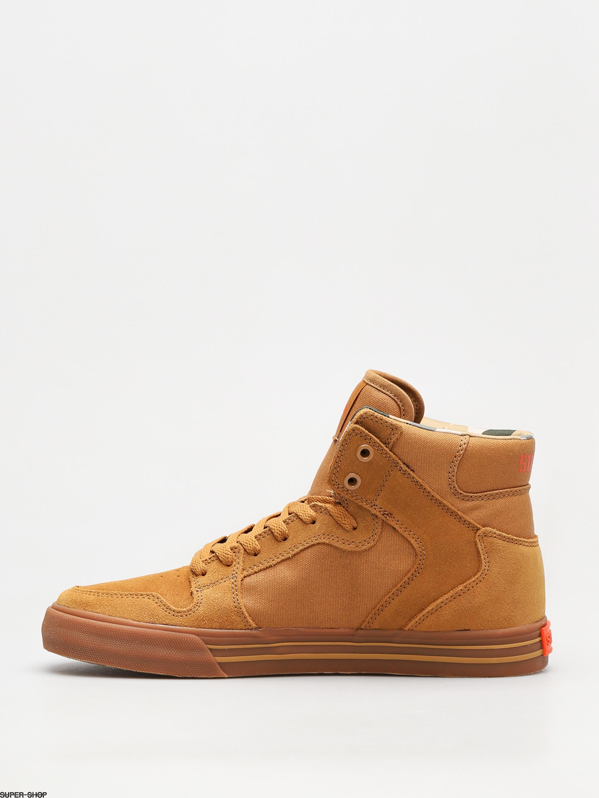 89ca2975894 Supra Shoes Vaider (tan lt gum)