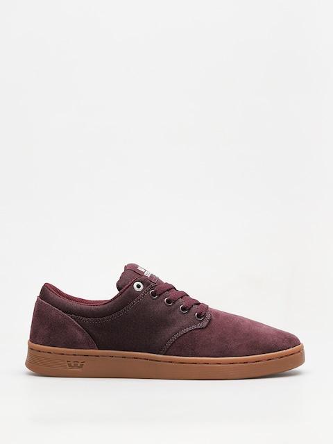 Supra Schuhe Chino Court (wine gum)