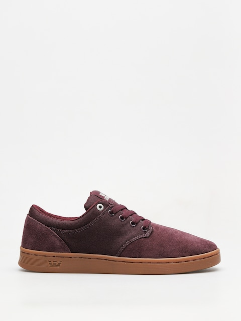 Supra Shoes Chino Court (wine gum)