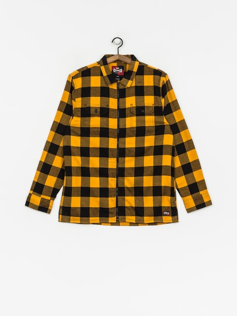 Vans Shirt X Independent Zip Flannel (sunflower)