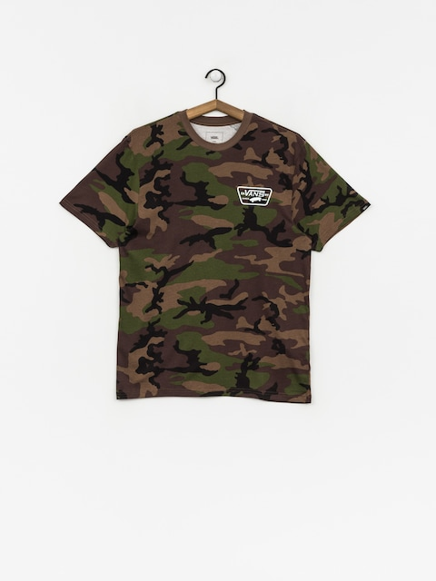 Vans T-Shirt Full Patch Back (camo/white)