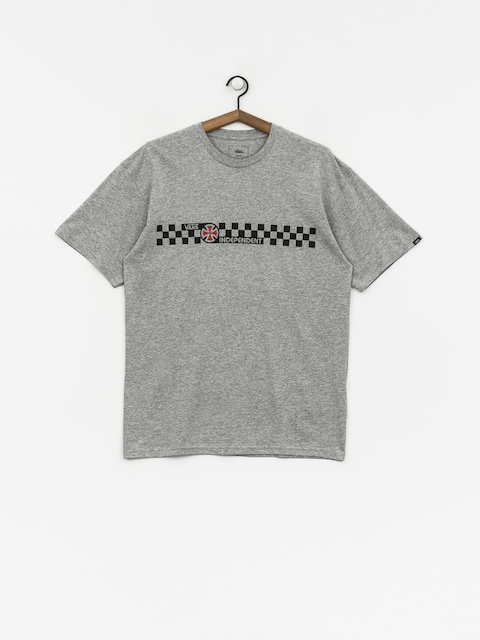 Vans X Independent T-Shirt Checkerboard (athletic heather)