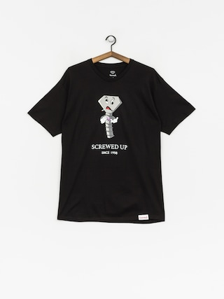 Diamond Supply Co. T-Shirt Screwed Up (black)