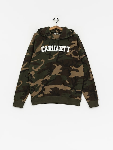 Carhartt WIP Hoody College HD (camo laurel/white)