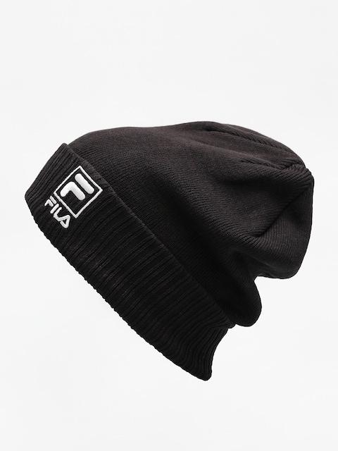 Fila Mütze Slouchy F Box Beanie (black)