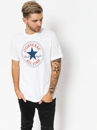 Converse T-shirt Chuck Patch (white)