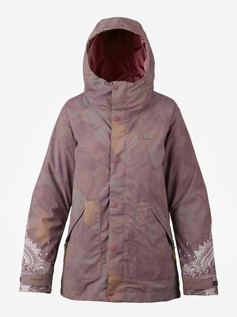 Burton Snowboard jacket Eastfall Wmn (quartz camo)