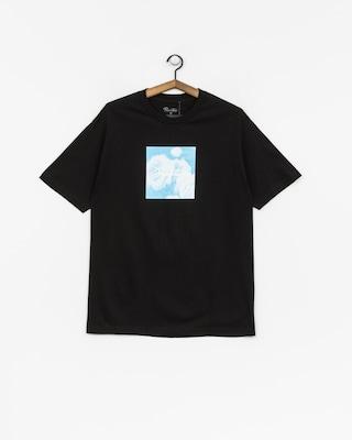Primitive T-Shirt Blue Rose (black)