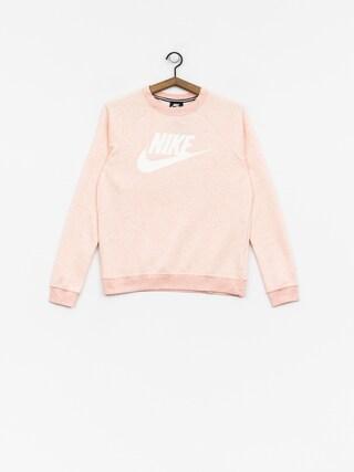 Nike Sportswear Rally Sweatshirt Wmn (storm pink/htr/white)