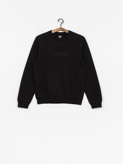 Stussy Sweatshirt Smooth Stock Wmn (black)