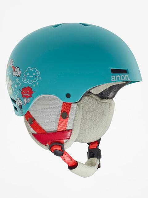 Anon Helmet Dziecięcy kask Rime (hi5 blue)