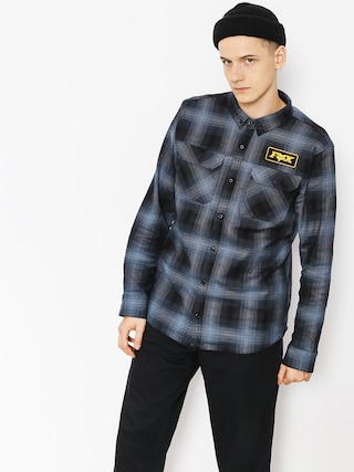 Fox Shirt Gorman Overshirt 2 0 (nvy)