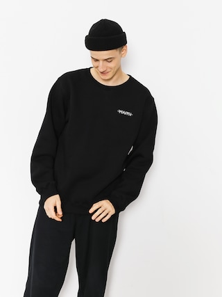 Youth Skateboards Sweatshirt Crewneck Youth Logo (black)