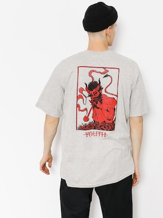Youth Skateboards T-shirt Devil (grey)