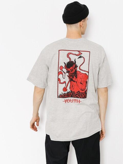 Youth Skateboards T-shirt Devil