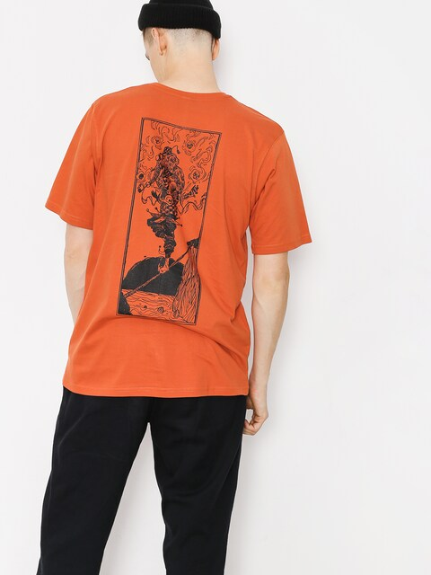 Youth Skateboards T-shirt Bateleur (orange)