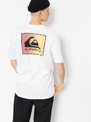 Quiksilver T-shirt Original Clapatc (white)