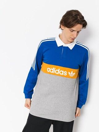 adidas Polo t-shirt Heritge Plo (collegiate royal/core heather/tactile yellow/white)