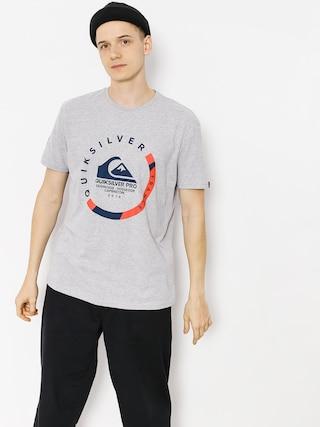 Quiksilver T-shirt Quik Pro Frt 18 (light grey heather)