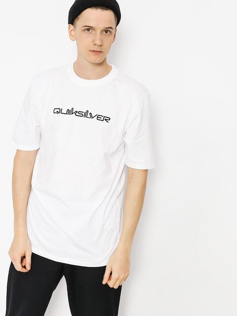 Quiksilver T-shirt Original Quik Col (white)