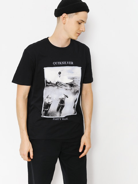 Quiksilver T-shirt Wave Party (black)