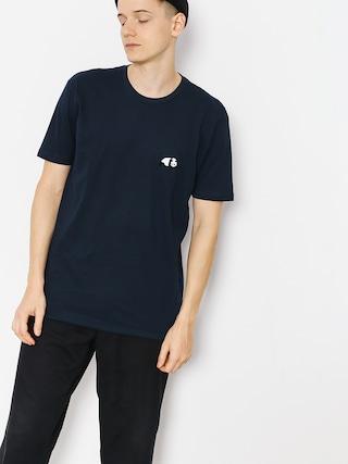 Enjoi T-shirt Small Panda Logo (navy)