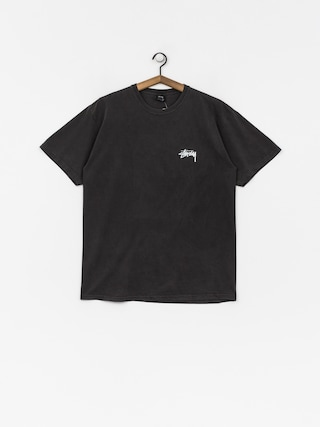 Stussy T-shirt 8 Ball Pig Dyed (black)