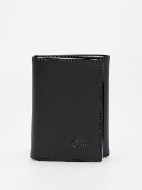Fox Wallet Trifold Leather (blk)