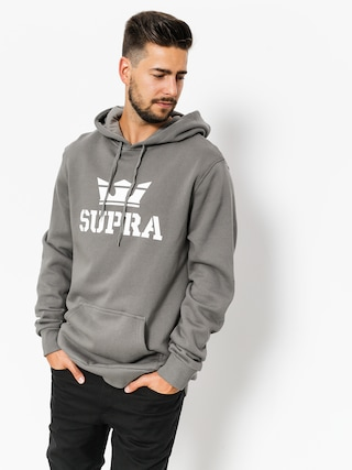 Supra Hoodie Above HD (charcoal/white white)