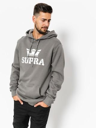 Supra Hoodie Above HD (charcoal/white white)