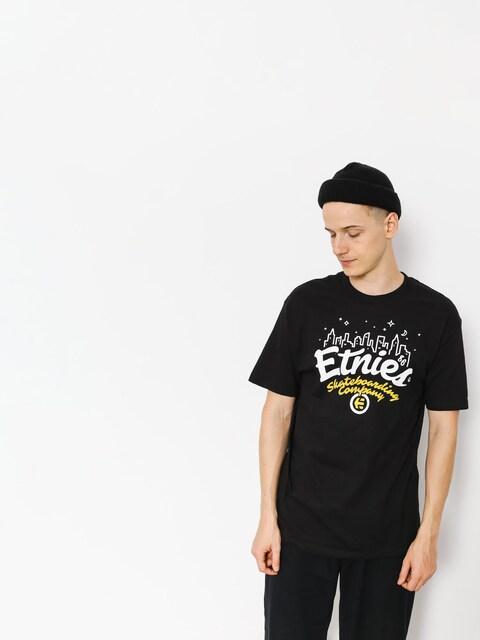 Etnies T-shirt City Lights (black)