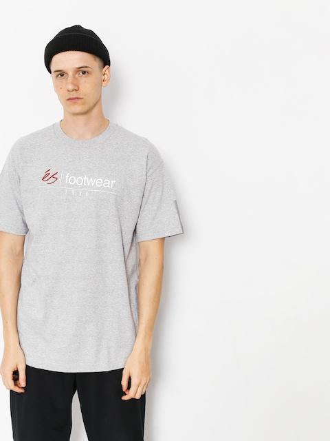 Es T-shirt Heritage Stack (grey/heather)