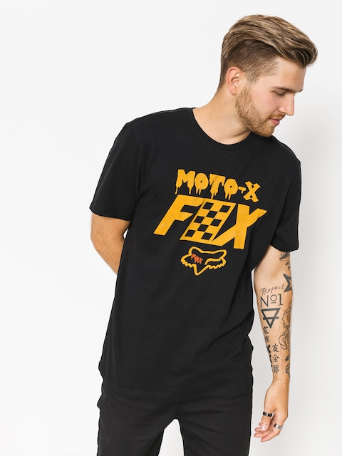 Fox T-shirt Czar (blk/gry)