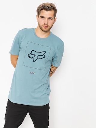 Fox T-shirt Crass (blu/gry)