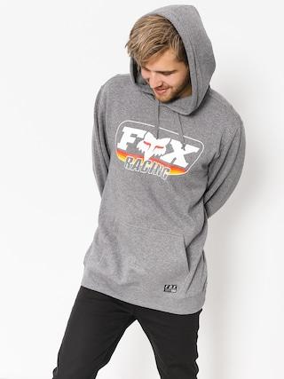 Fox Hoodie Throwback HD (htr graph)