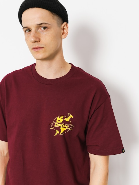 Emerica T-shirt Nailed (burgundy)